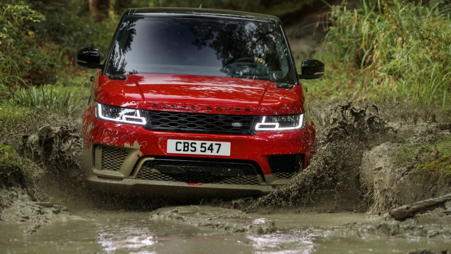 2018 Range Rover Sport offroad