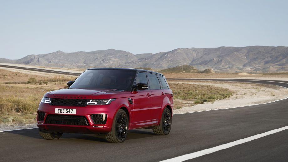 2018 Range Rover Sport rot