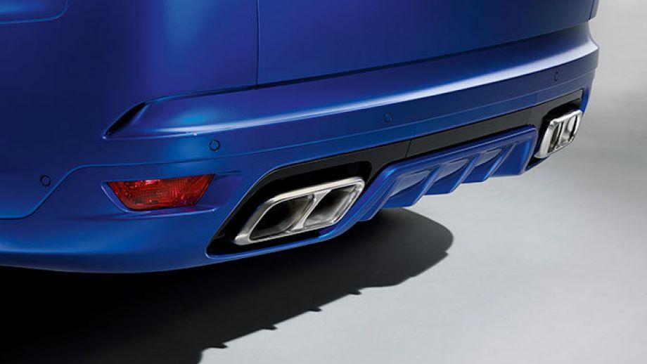 Range Rover Sport SVR Auspuff