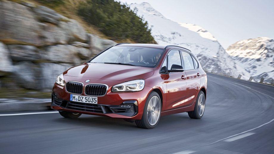 BMW 2er Active Tourer dynamisch