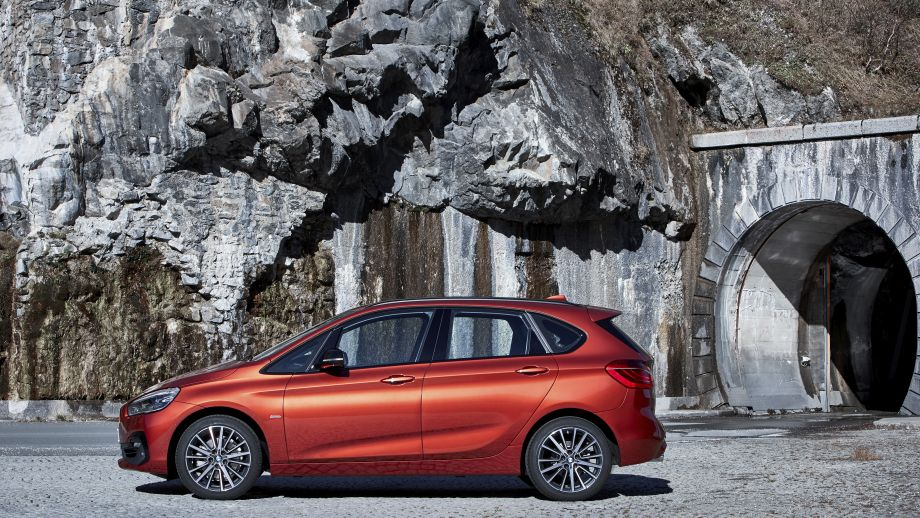 BMW 2er Active Tourer Seite