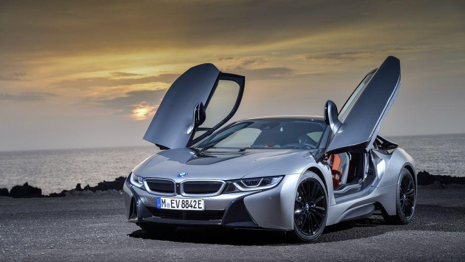 BMW i8 Coupé Facelift Türe offen