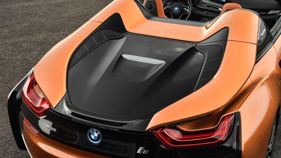 BMW i8 Roadster Heck