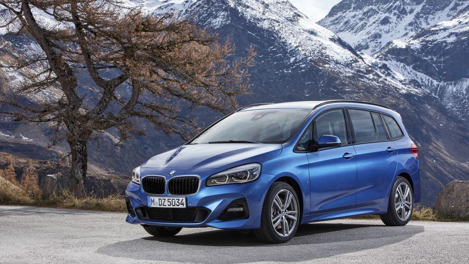 BMW 2er Gran Tourer blau