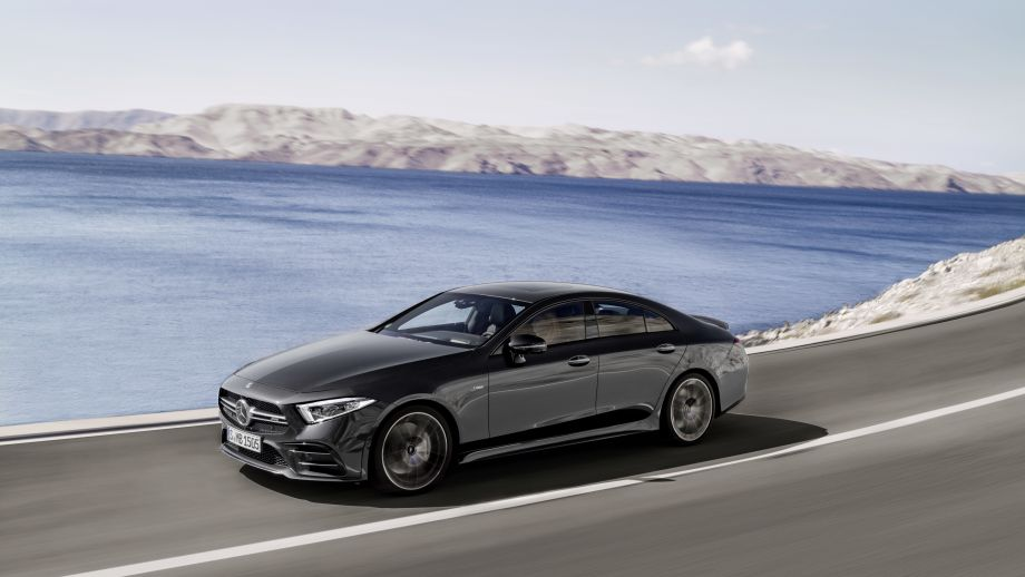 Mercedes-AMG CLS 53 4MATIC+ fahrend
