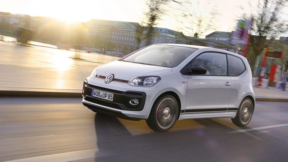 VW up! GTI weiss