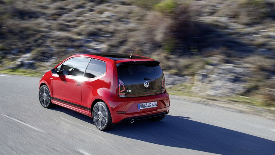 VW up! GTI rot dynamisch