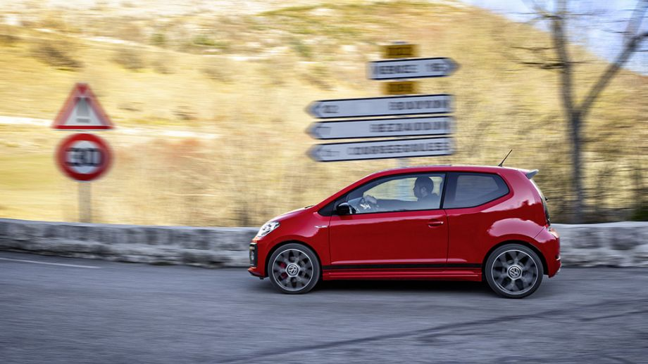VW up! GTI rot Seite