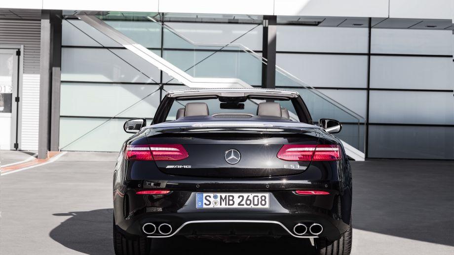 Mercedes-AMG E53 4MATIC+ Cabriolet Heck