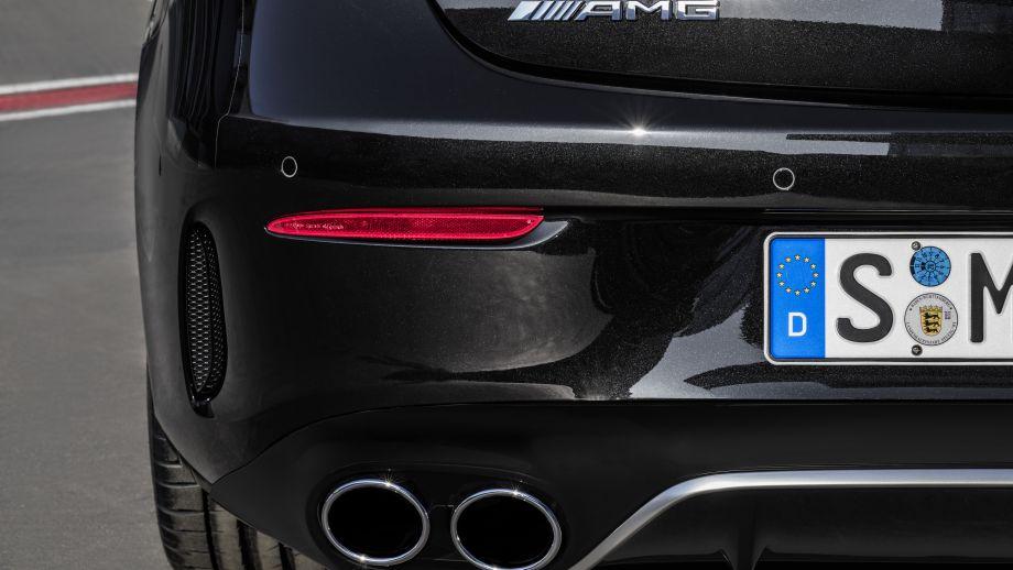 Mercedes-AMG E53 4MATIC+ Cabriolet Auspuff