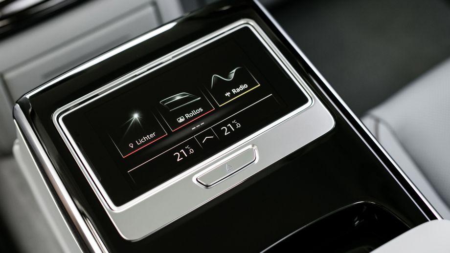 Audi A8 Limousine inside