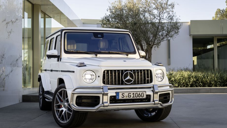 Mercedes-AMG G63 2018 Front