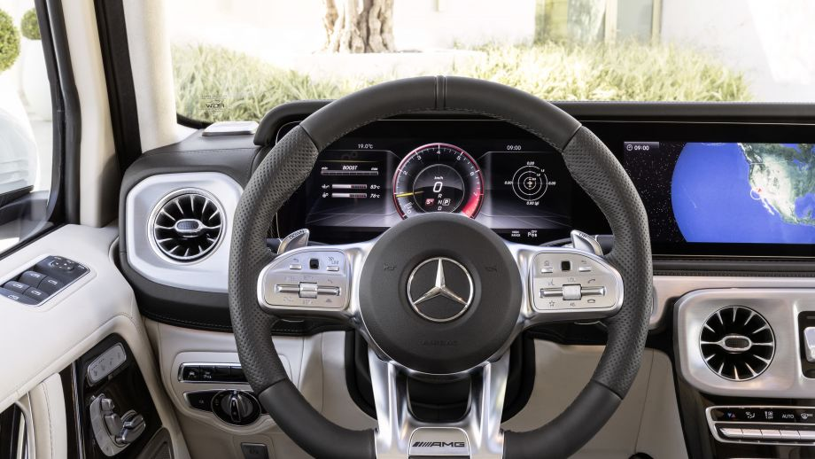 Mercedes-AMG G63 2018 Lenkrad