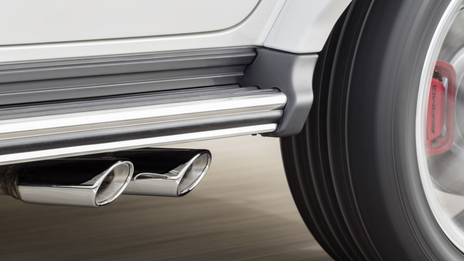 Mercedes-AMG G63 2018 Auspuff