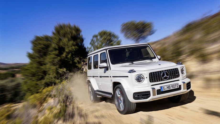 Mercedes-AMG G63 2018 offroad