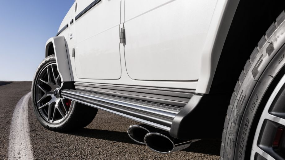 Mercedes-AMG G63 2018 Sidepipes