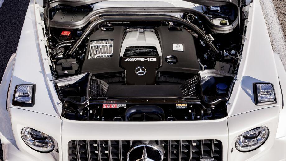 Mercedes-AMG G63 2018 4.0 Liter Biturbo V8