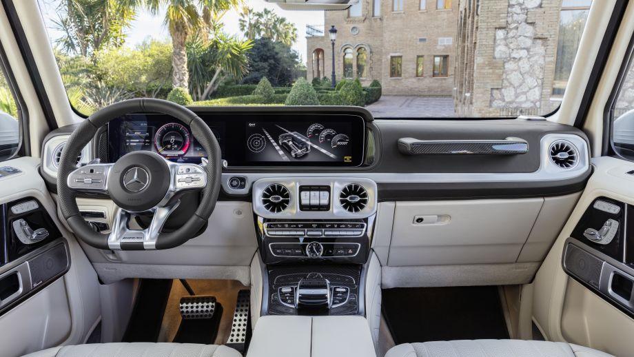 Mercedes-AMG G63 2018 Armaturenbrett