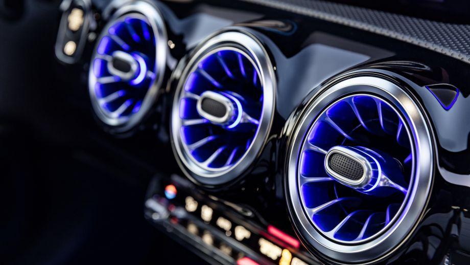 Mercedes-Benz A-Klasse Lüftungsdüsen illuminiert