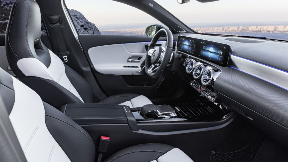 Mercedes-Benz A-Klasse Interieur 2018