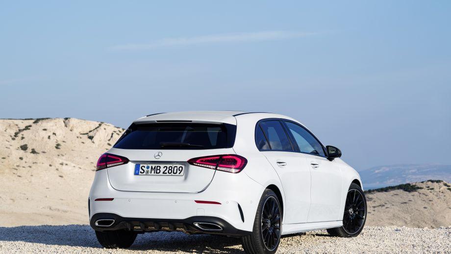 Mercedes-Benz A-Klasse White Pearl Heck