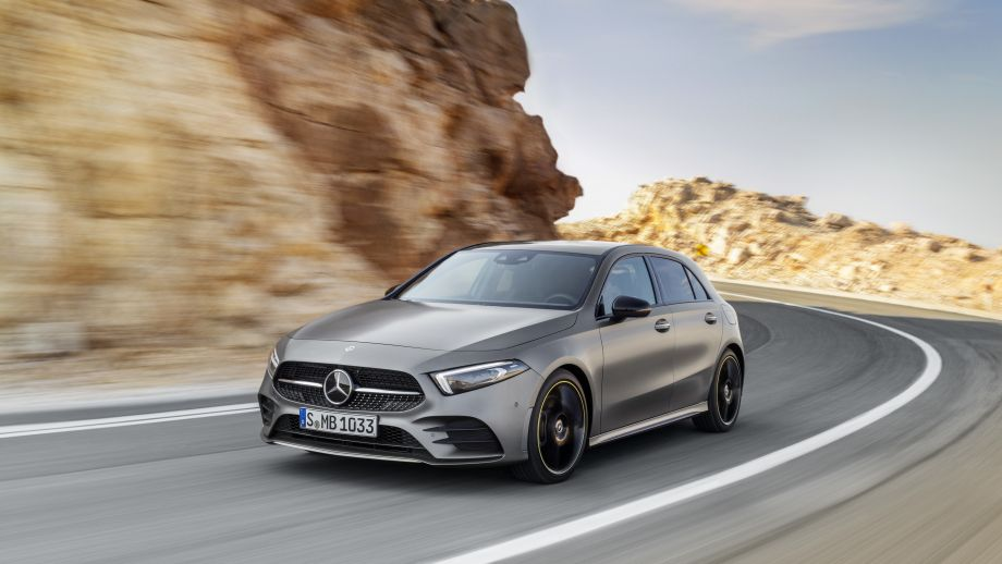Mercedes-Benz A-Klasse designo mountaingrau magno Edition 1