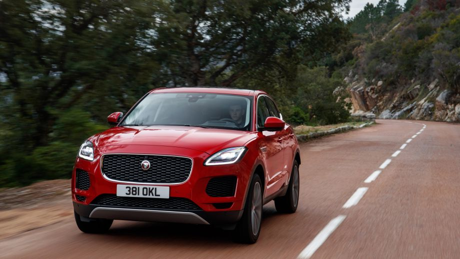 Jaguar E-Pace SUV 2018 Firenze Red Front