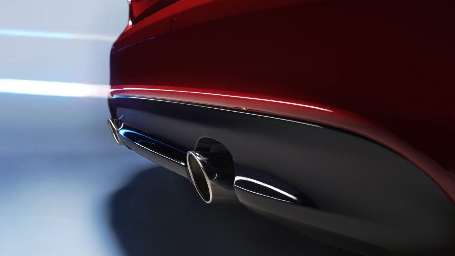 Jaguar XE S Limousine Abgasanlage
