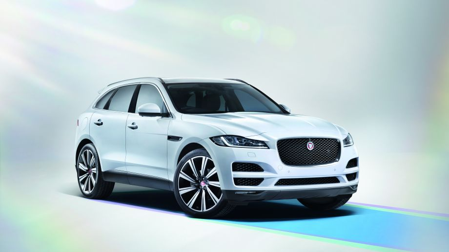 Jaguar F-Pace weiss Front