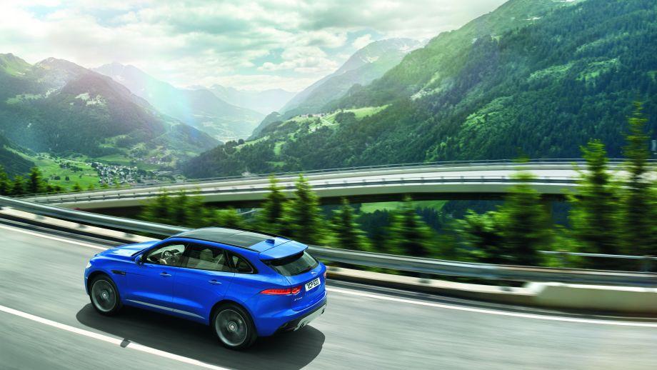 Jaguar F-Pace S dynamisch