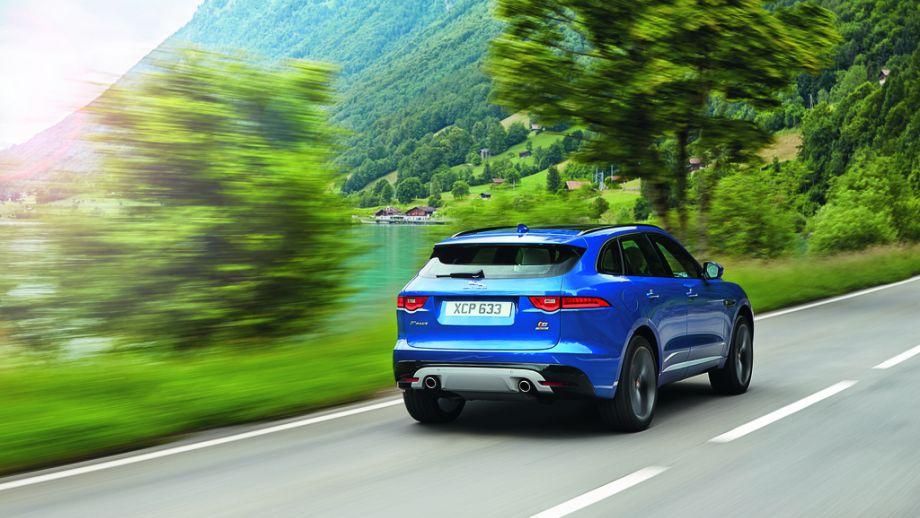 Jaguar F-Pace S Heck