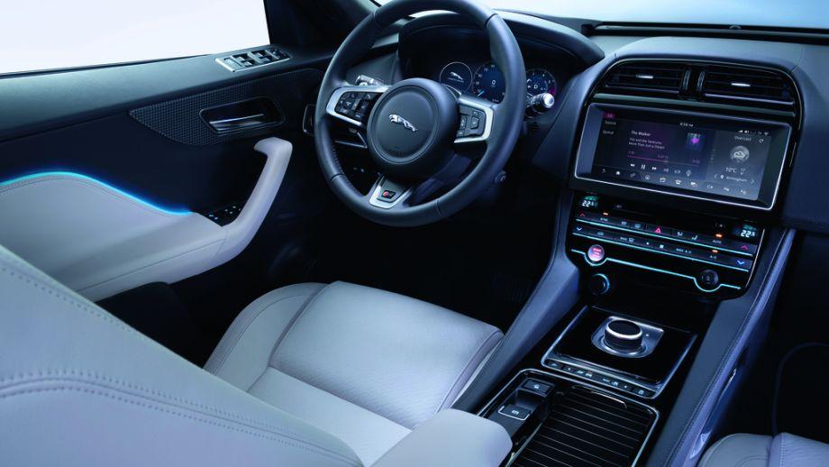 Jaguar F-Pace S Interieur