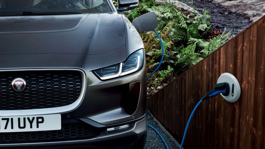Jaguar I-Pace Ladestation