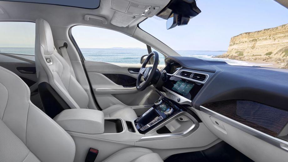 Jaguar I-Pace rot Interieur