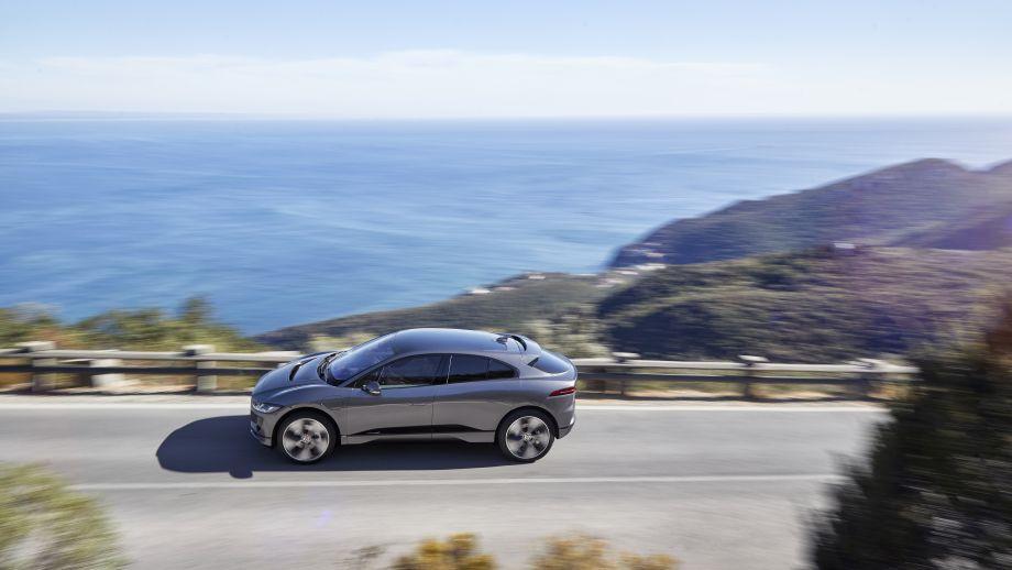 Jaguar I-Pace Seite