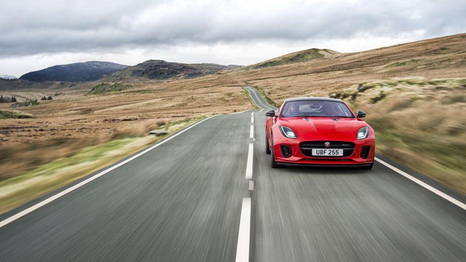 Jaguar F-Type rot Front