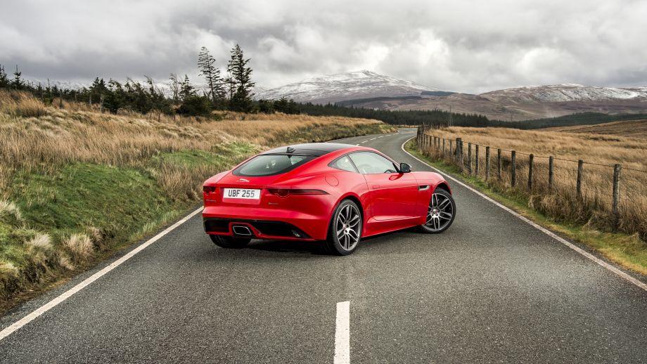 Jaguar F-Type rot Heck