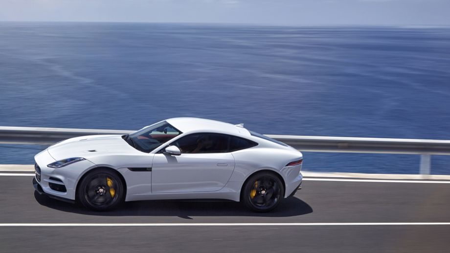 Jaguar F-Type R Seite