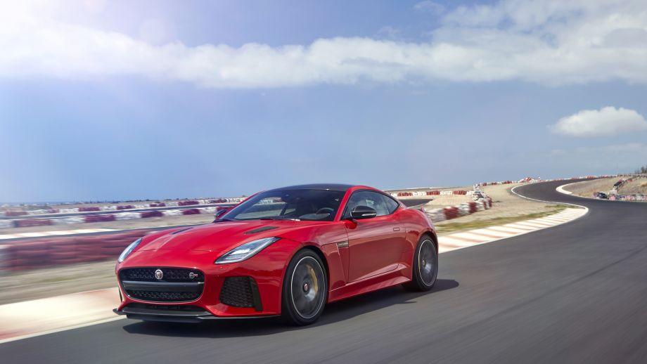 Jaguar F-Type SVR Coupé Front Facelift