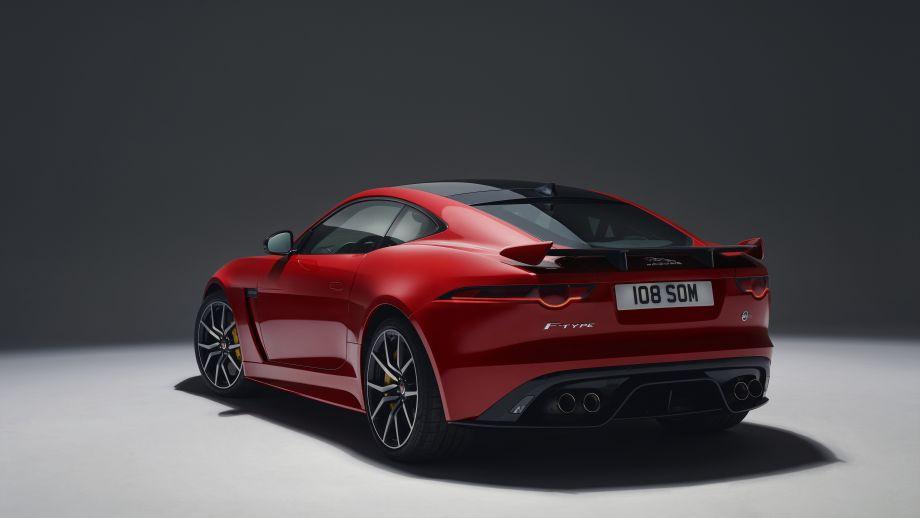 Jaguar F-Type SVR Coupé Heck Facelift