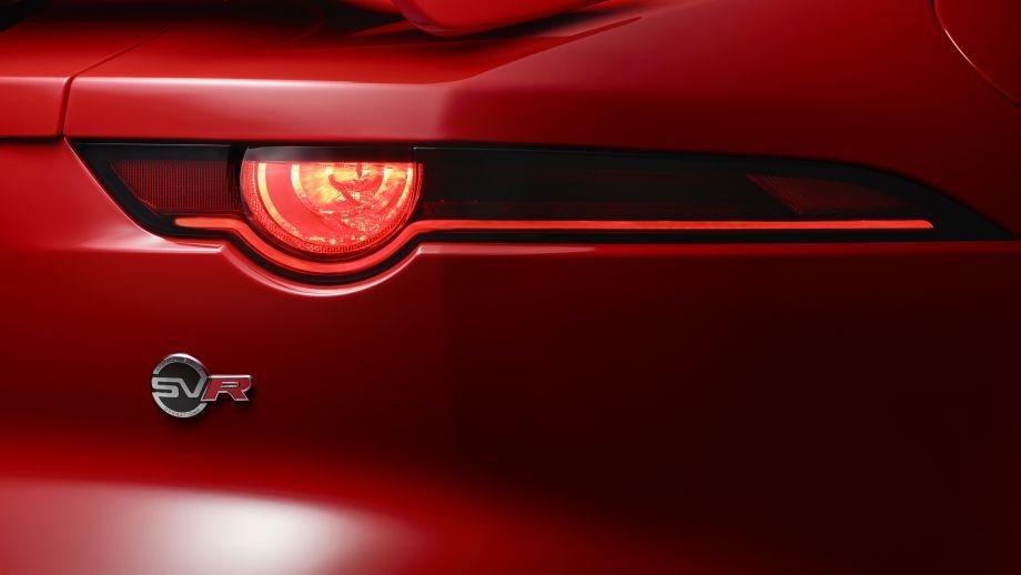 Jaguar F-Type SVR Coupé Heckleuchte Facelift
