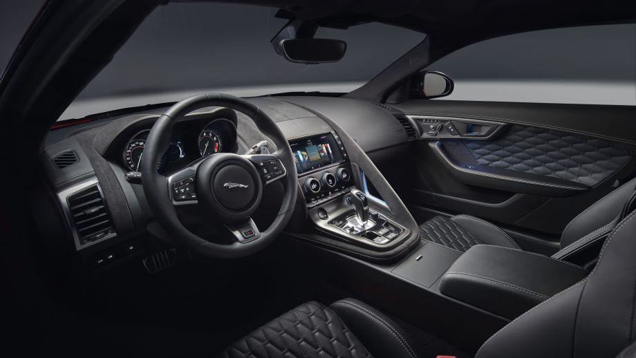 Jaguar F-Type SVR Coupé Interieur Facelift