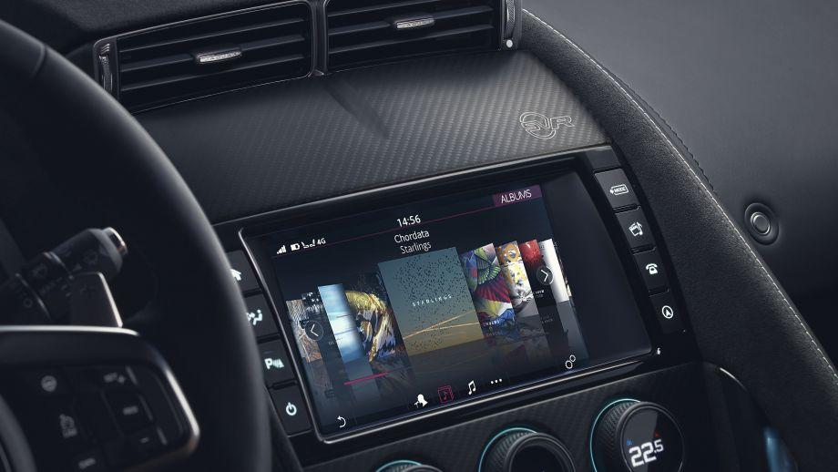 Jaguar F-Type SVR Coupé Infortainment Facelift