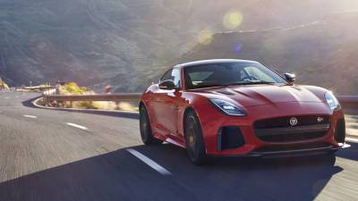 Jaguar F-Type<br/>SVR Coupé