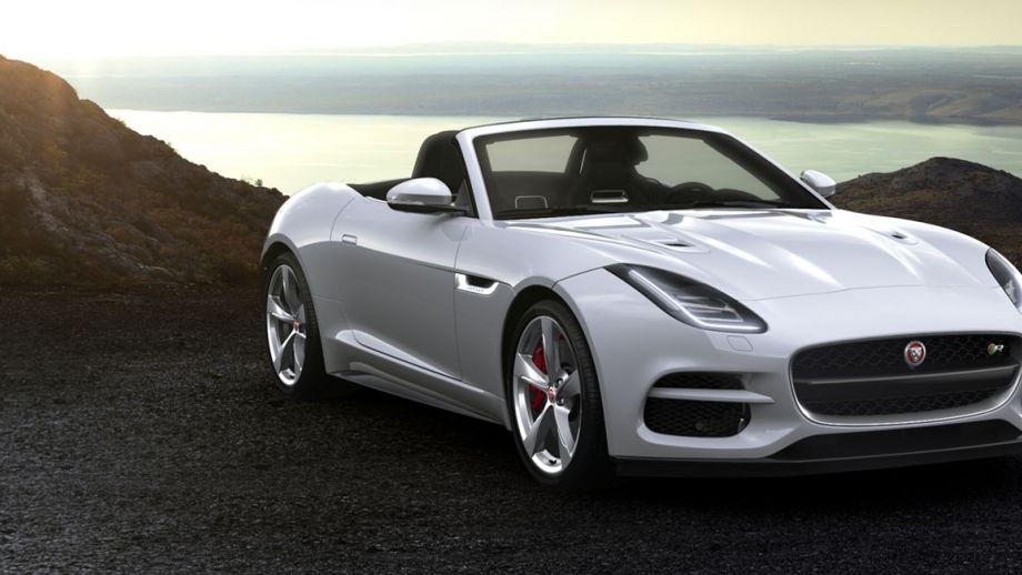 F-TYPE R Convertible Facelift