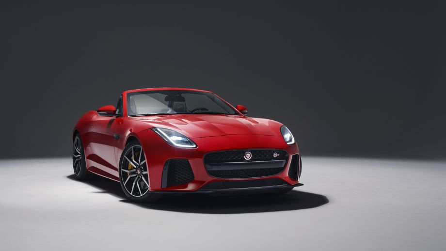 Jaguar F-TYPE SVR Convertible Facelift