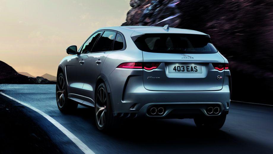 Jaguar F-Pace SVR Heck
