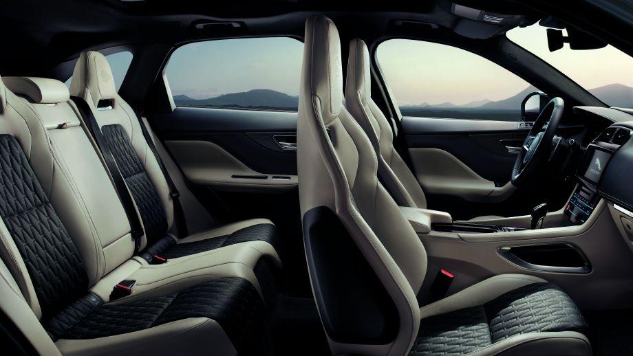 Jaguar F-Pace SVR Sitze