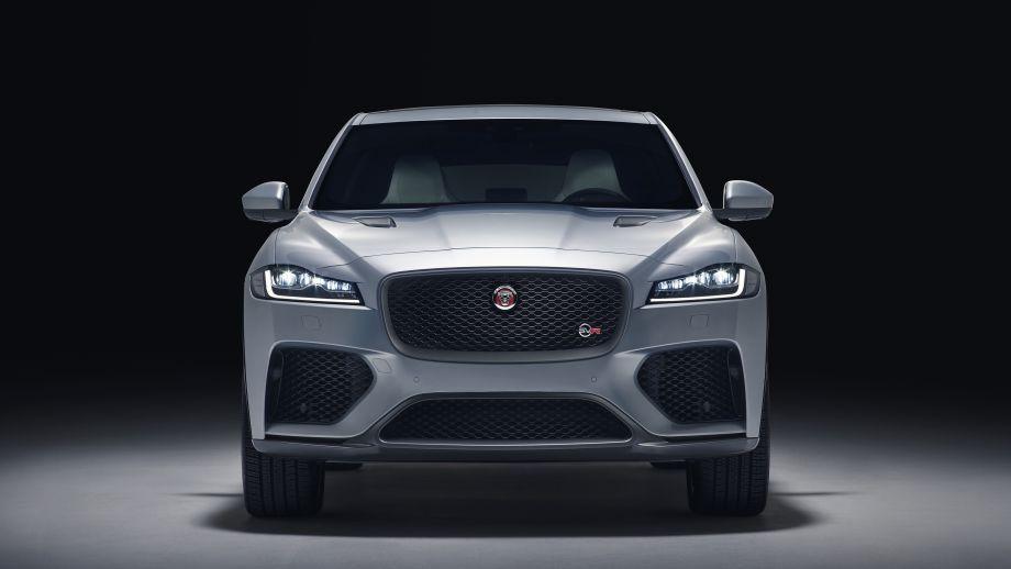 Jaguar F-Pace SVR Front