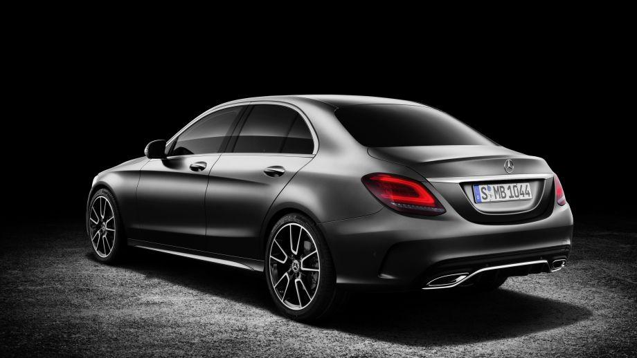 Mercedes-Benz C-Klasse Limousine Facelift 2018 Heck